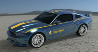 1 of 1 Blue Angels Mustang Set for Auction.